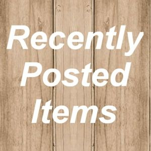 Other - Recently Posted Items